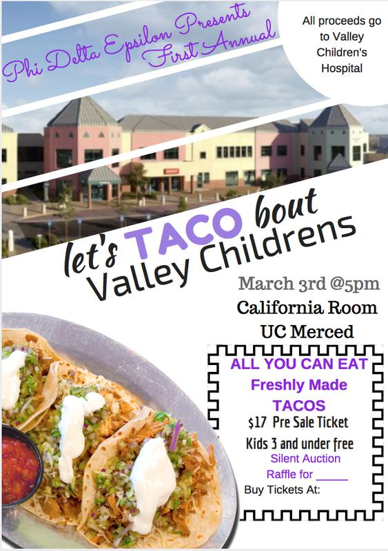 Let's TACO bout Valley Childrens