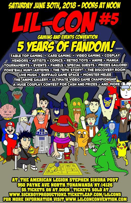 LIL-CON #5 - FIVE YEARS OF FANDOM!