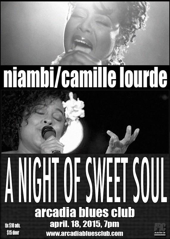 Niambi / Camille Lourde 4-18-2015 ABC