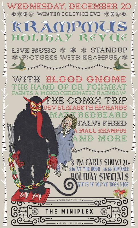 Krampmus Holiday Revue