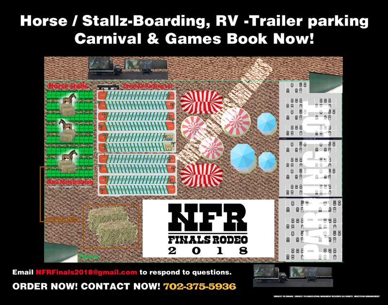 NFR Rodeo Finals Cowboy Christmas Carnival & Horse Boarding - RV Park
