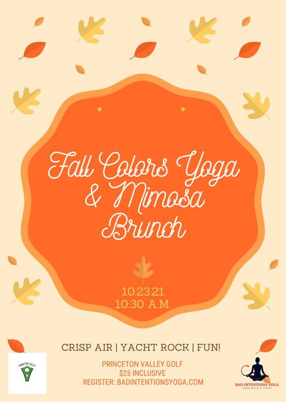 Fall Colors Yoga & Mimosa Brunch
