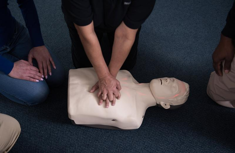 American Red Cross - Adult CPR / AED (Blended Online + Classroom)