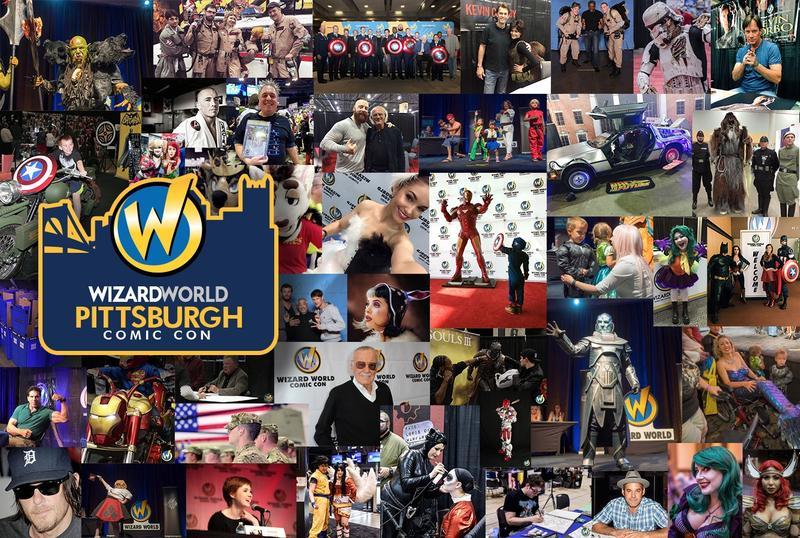 Wizard World Comic Con PITTSBURGH 2016 Admission