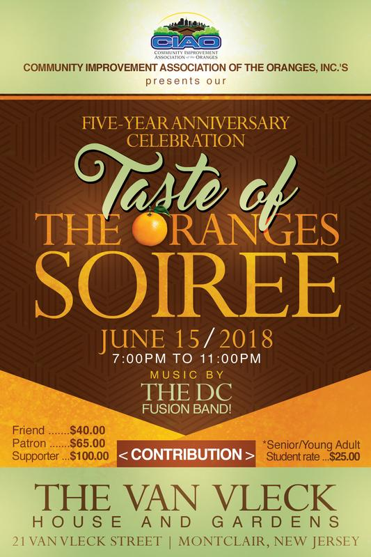 CIAO's Taste of The Oranges Soiree