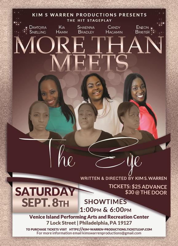 More Than Meets The Eye Stage Play
