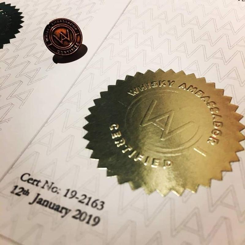 Whisky Ambassador Certification & Master Tasting (Philadelphia)