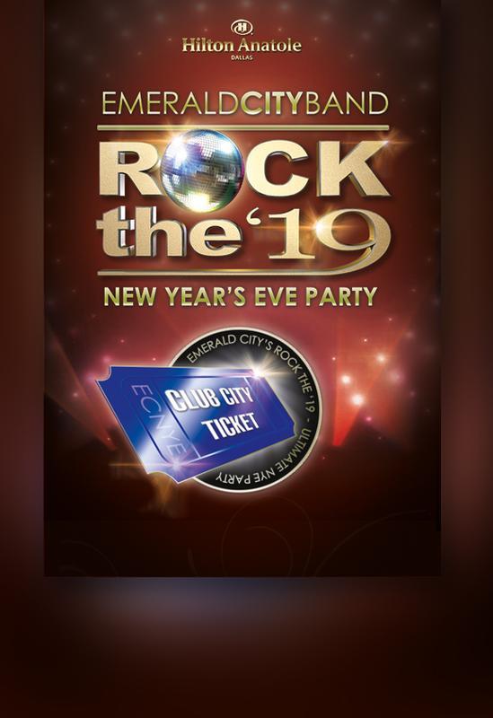 Rock the 19 Club Tickets