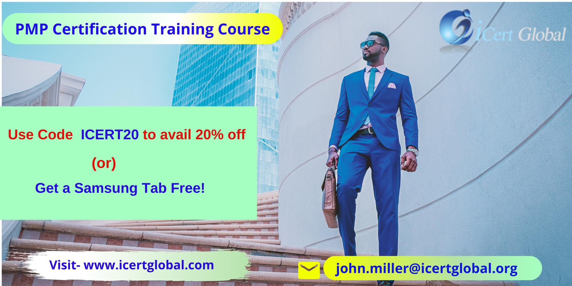 PMP Classroom Training in Los Angeles, CA