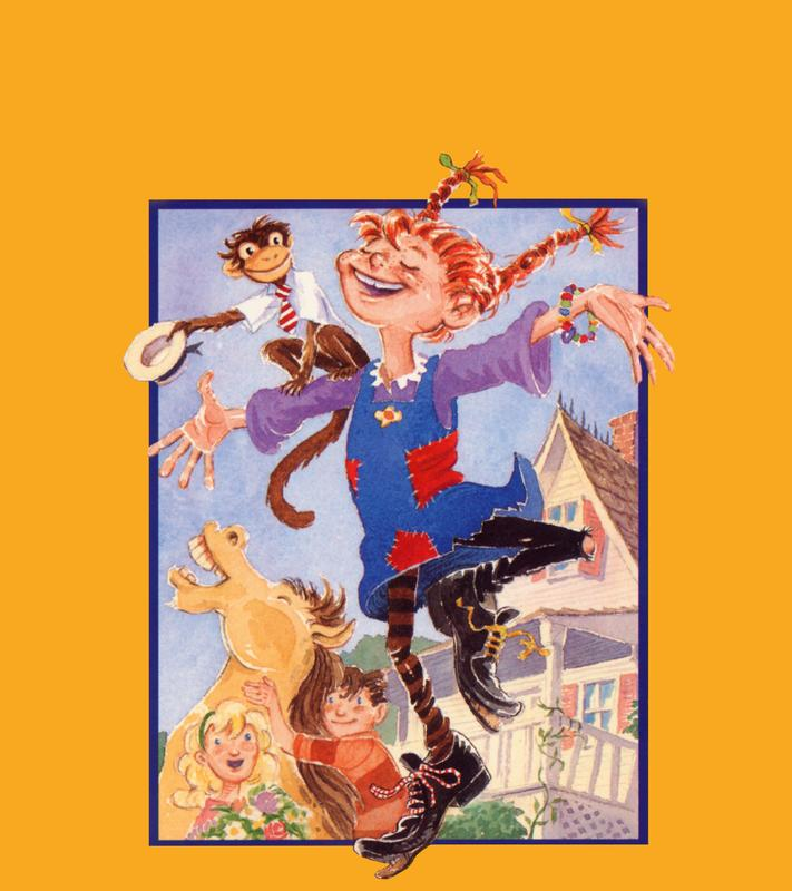 Pippi Longstocking | Пеппи Длинныйчулок