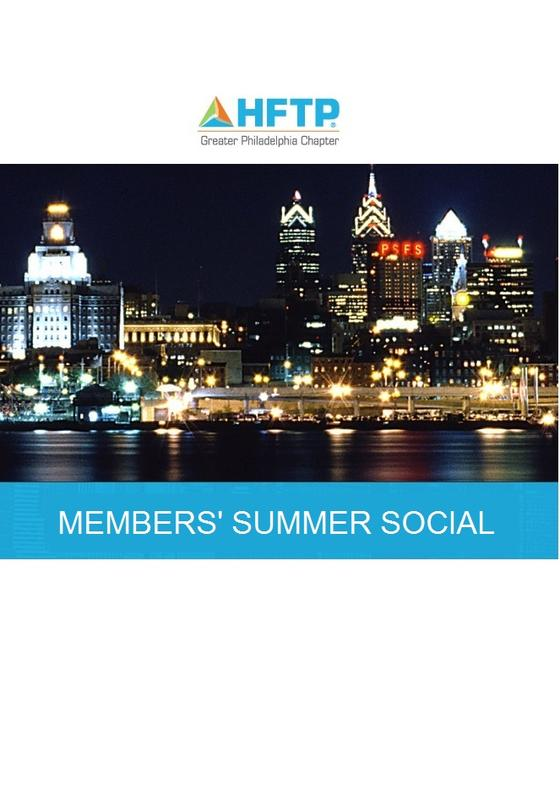 HFTP Greater Philadelphia Chapter Annual Members' Social