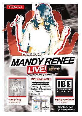 Mandy Renee Live In Concert  - July 2nd 2015 #CanadaDayWeekend