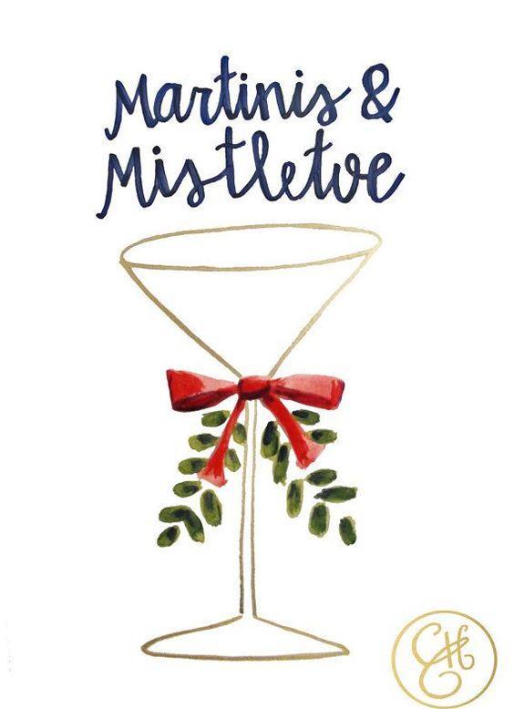 Martinis & Mistletoe