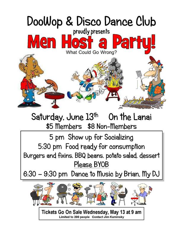 Men Host a Party!