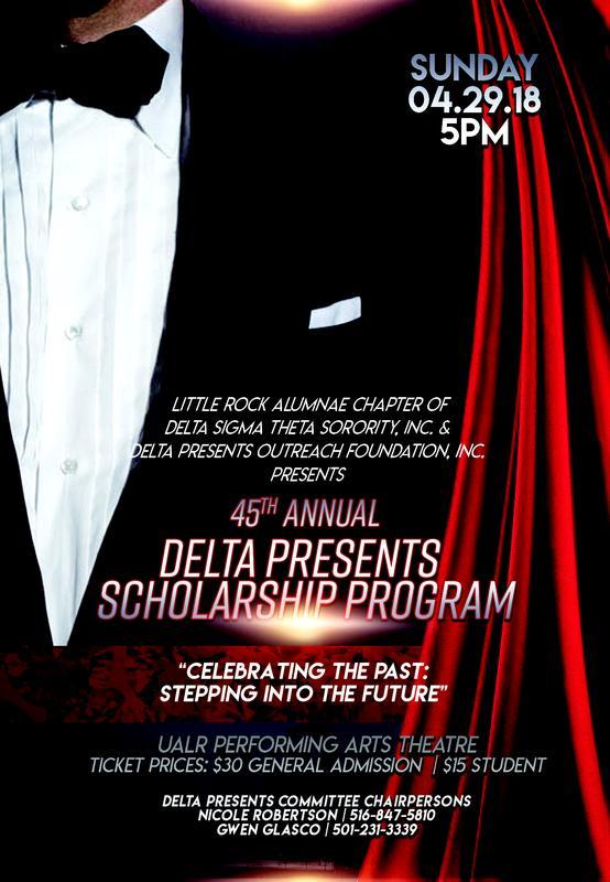45th Delta Presents Scholarship Program