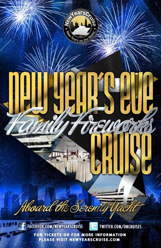2018 New Year's Eve Family Fireworks Cruise Aboard the Serenity Yacht