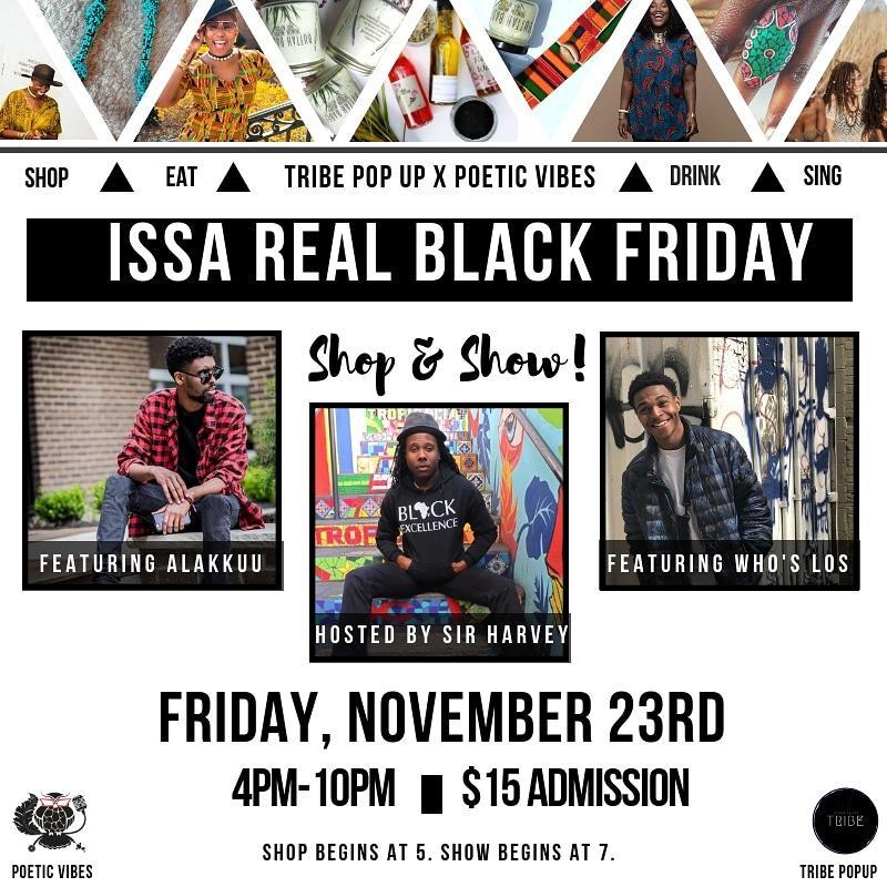 ISSA REAL BLACK FRIDAY