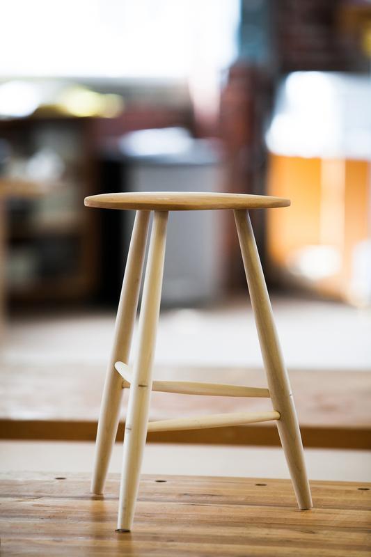 Woodturning I: Three-Legged Stool