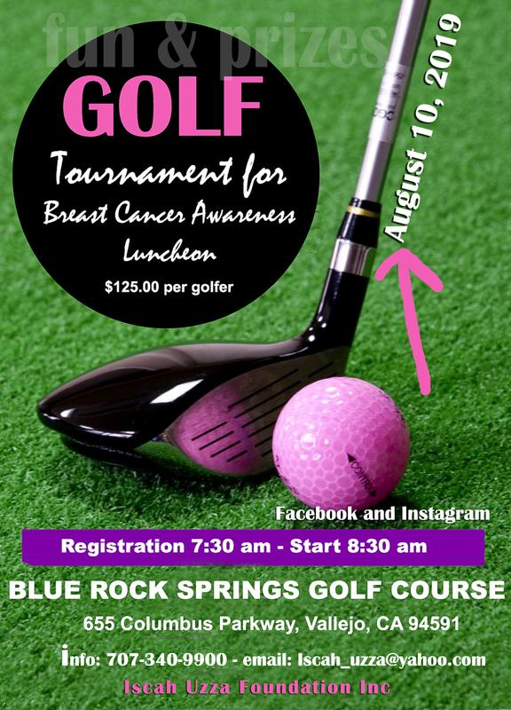 Iscah Uzza Foundation Inc. Golf Tournament for Breast Cancer Awareness