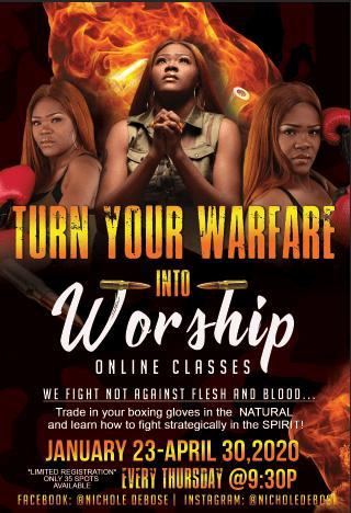 TURN YOUR WARFARE INTO WORSHIP PART 1