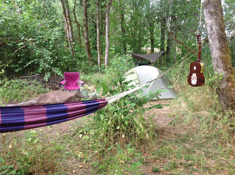 Oregon Country Fair Camping at The Furthurside Campground 2016