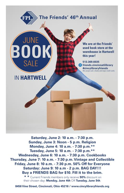 The Friends' 46th Annual June Book Sale