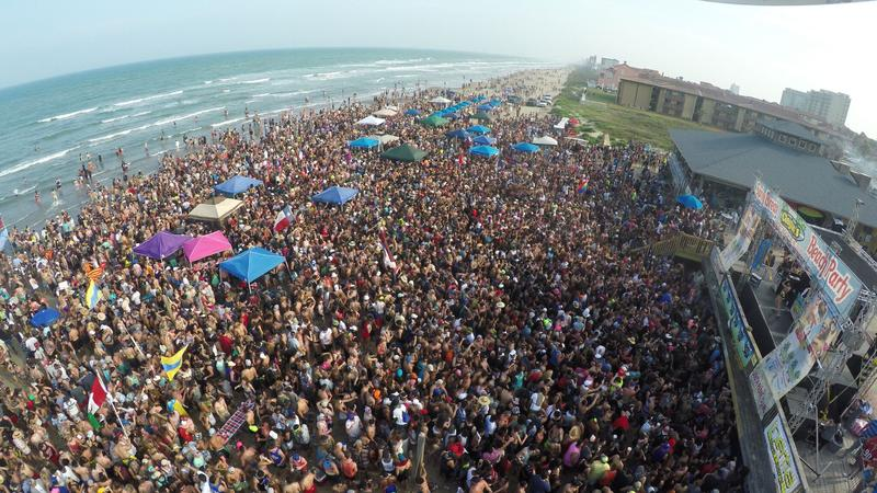Spring Break South Padre Red Carpet VIP Party Package