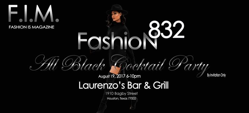 F.I.M Fashion832 All Black Cocktail Party