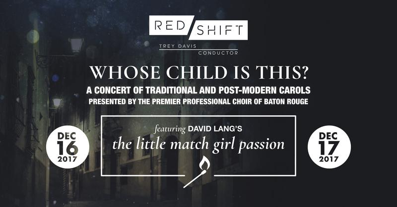 Red Shift presents Whose Child Is This?