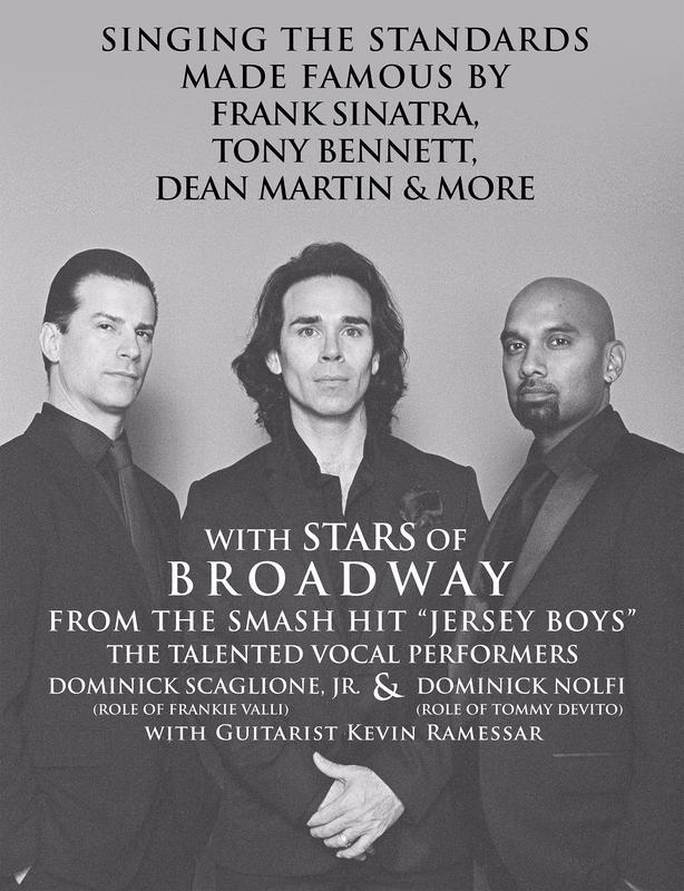 """Swinging Coast to Coast"" - Music of Sinatra, Tony Bennett, Dean Martin & More!"