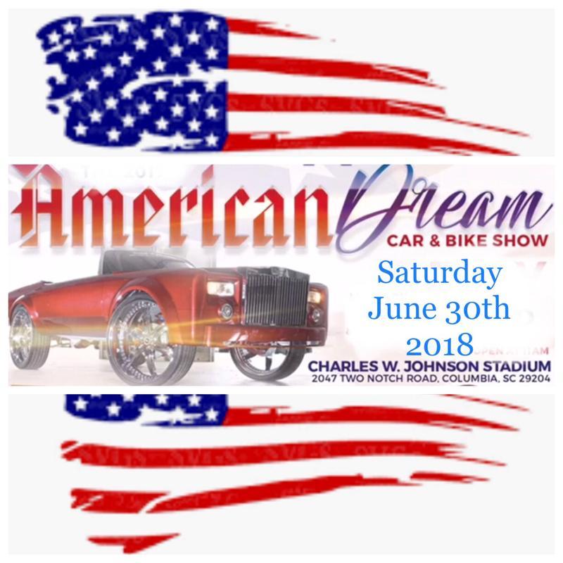 American Dream Car & Bike Show and Concert 2018