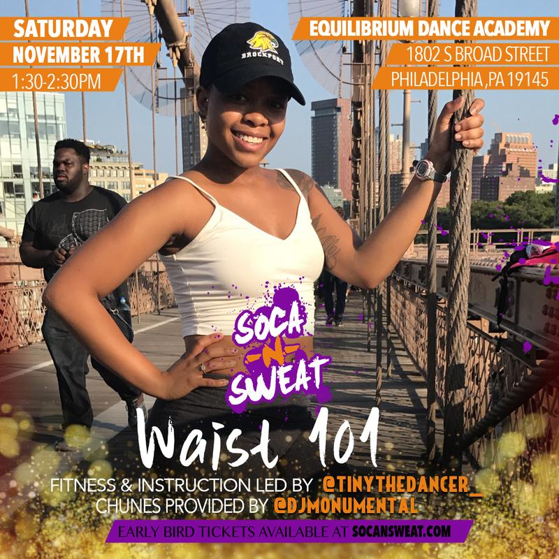 SOCA 'N' SWEAT WAIST 101 - PHILLY