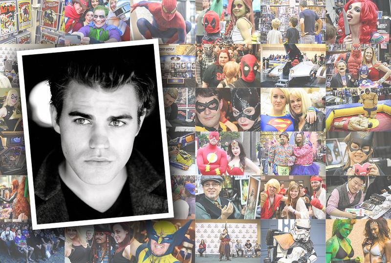 Paul Wesley VIP Experience @ New Orleans Comic Con 2015