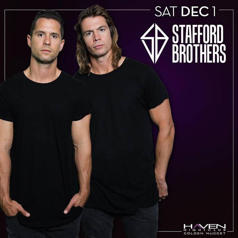 Stafford Brothers @ Haven Nightclub AC Dec 1