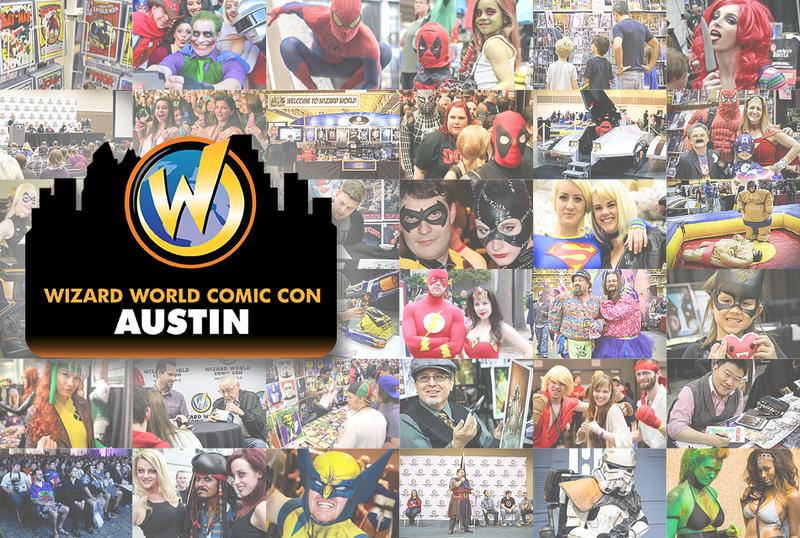 Wizard World Comic Con Austin 2015 VIP Package