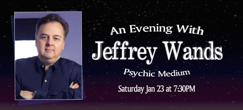 Jeffrey Wands Psychic Medium Tickets In Boca Raton Fl United States