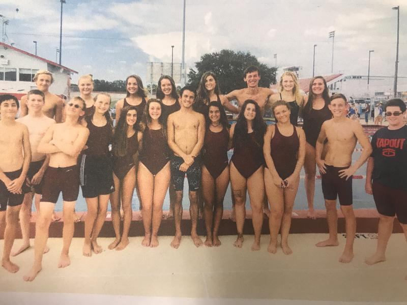 Tarpon Springs High School Swim Team