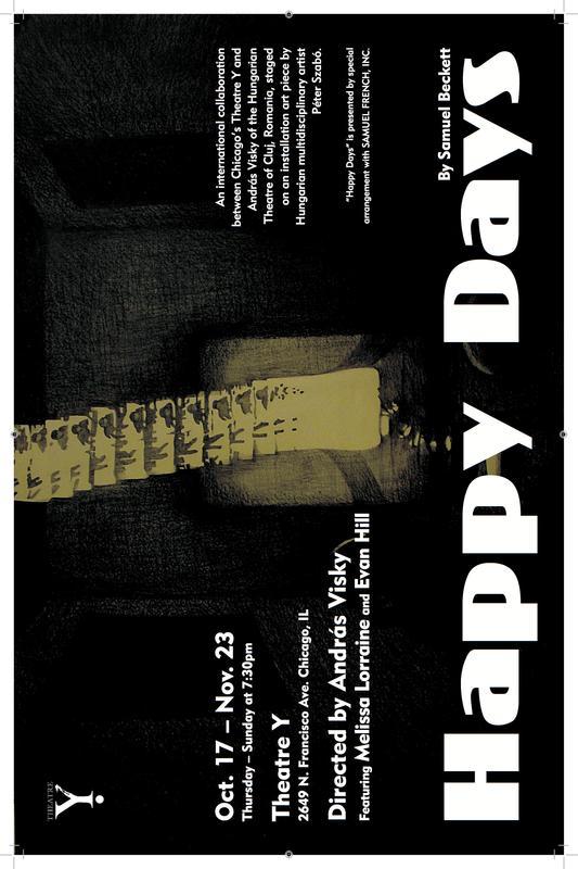 Theatre Y Presents: Happy Days by Samuel Beckett