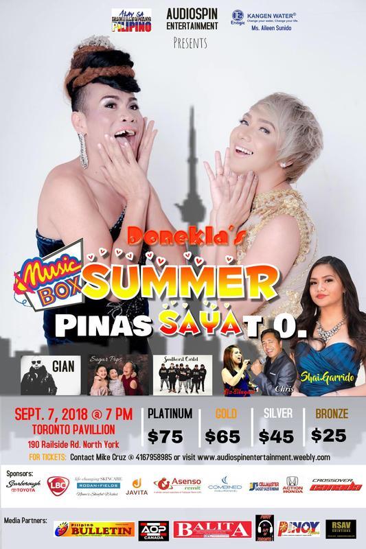 Music Box Summer PINAS Saya T.O. with Super Tekla and Donita Nose