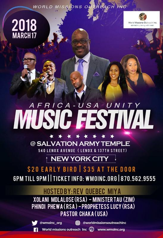 Africa-USA Unity Music Festival