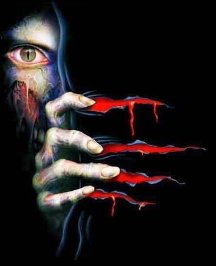 Terror in the Dark Haunted House