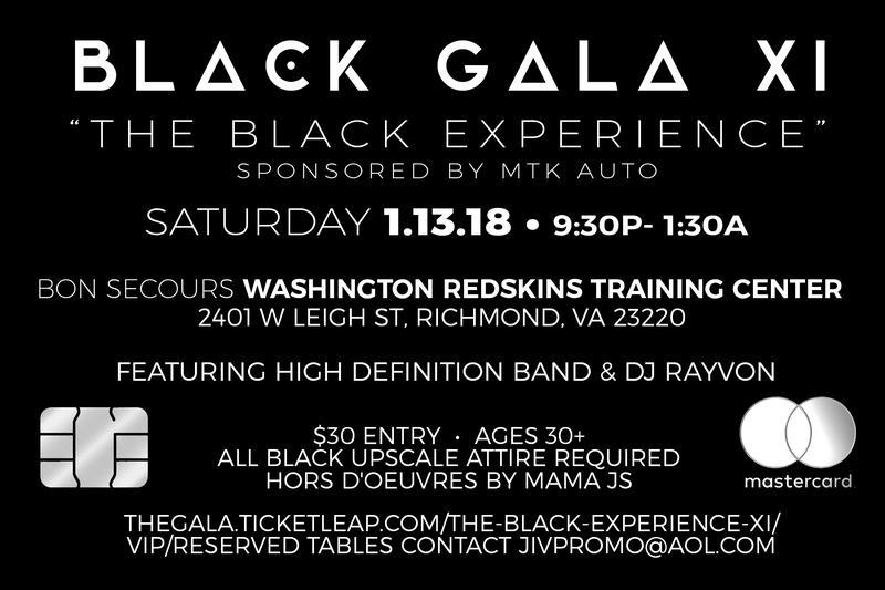 "BLACK GALA XI ""THE BLACK EXPERIENCE"""