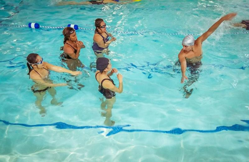 Adult Group Swimming Lesson