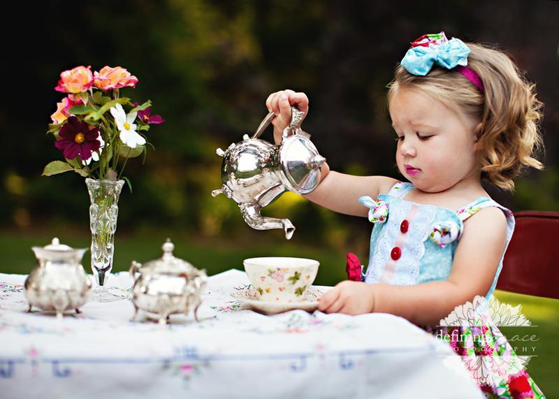August Granddaughter's Tea