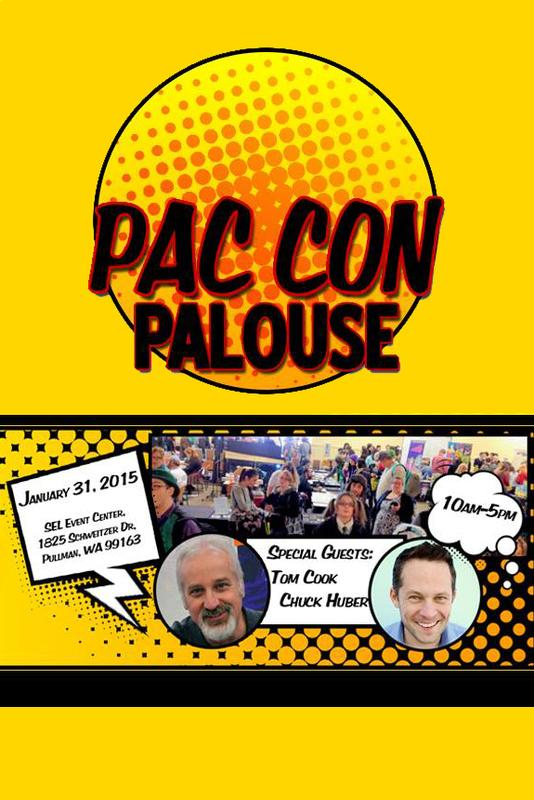 PAC Con Palouse: Pop Culture and Comic Con 2015