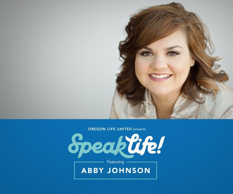 Speak Life! with Abby Johnson in Lake Oswego, Oregon