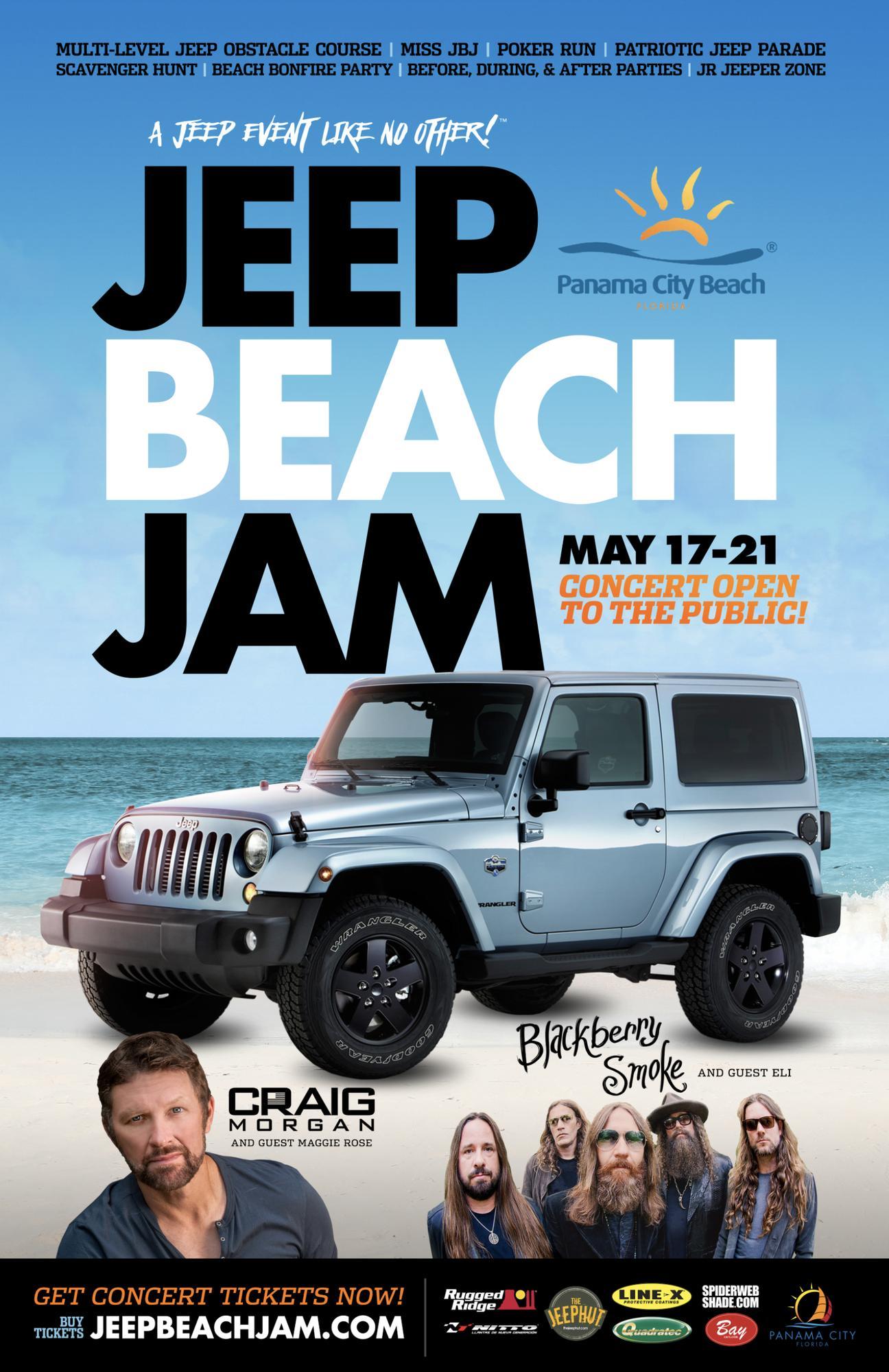 Craig Morgan Panama City Beach May