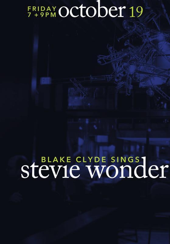 Blake Clyde Sings Stevie Wonder!