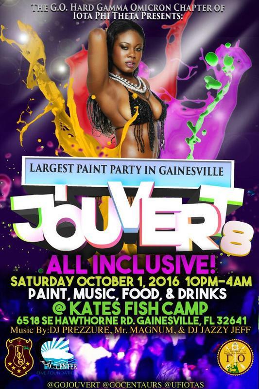 Jouvert 8 | Gainesville,Fl | Largest Caribbean Paint Party