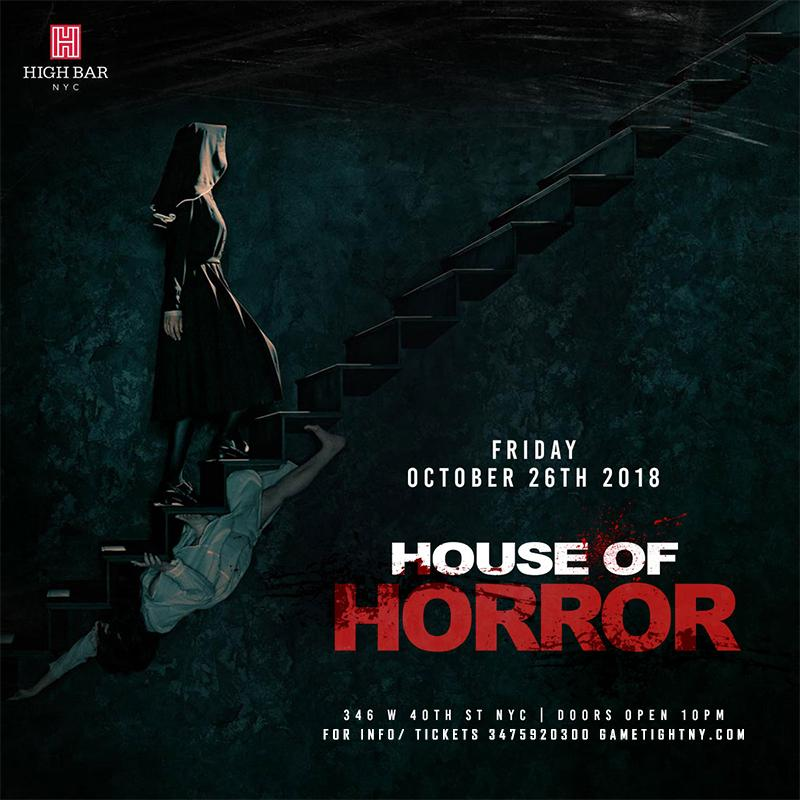 Highbar NYC House of Horror Halloween Party 2018